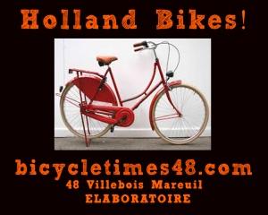 Bici nuevo Holland